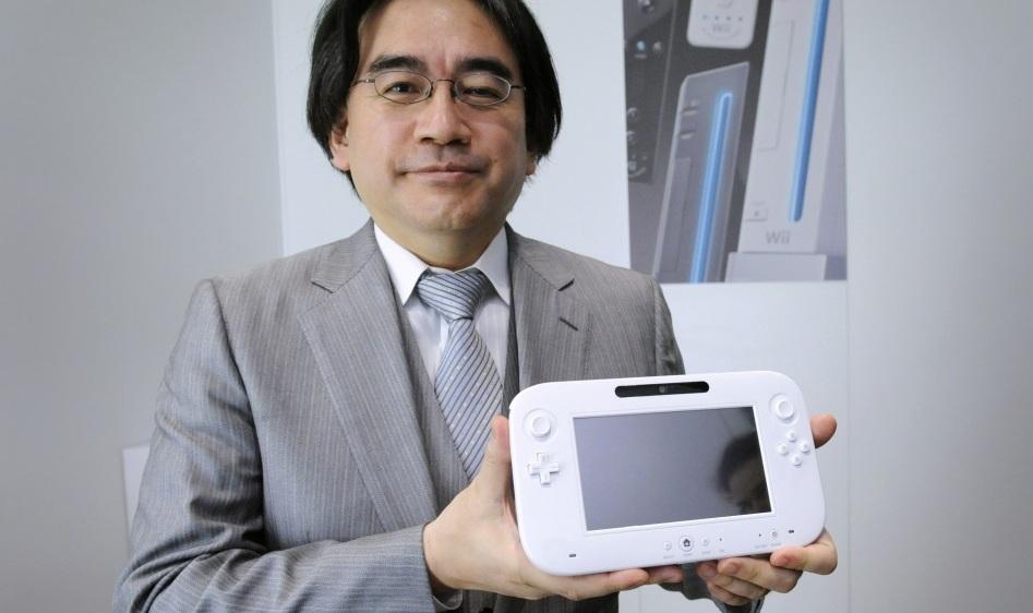Satoru Iwata mostra WiiU